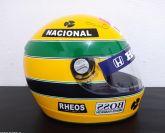 AYRTON SENNA HELMET 1:1 SEASON 1991 FORMULA 1 F1 GP BRAZIL 91  NEW