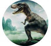Papel Arroz Dinossauro Redondo 005 1un