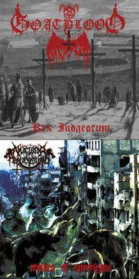 GOATBLOOD (Ger) / NUCLEAR PERVERSIONS - Rex Judaeorum / Wolves of Apocalypse - 7
