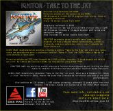 IGNITOR - Take to the Sky (CD)