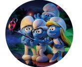 Papel Arroz Smurfs Redondo 006 1un