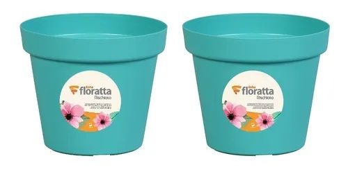 Vaso redondo Floratta NR 19 verde