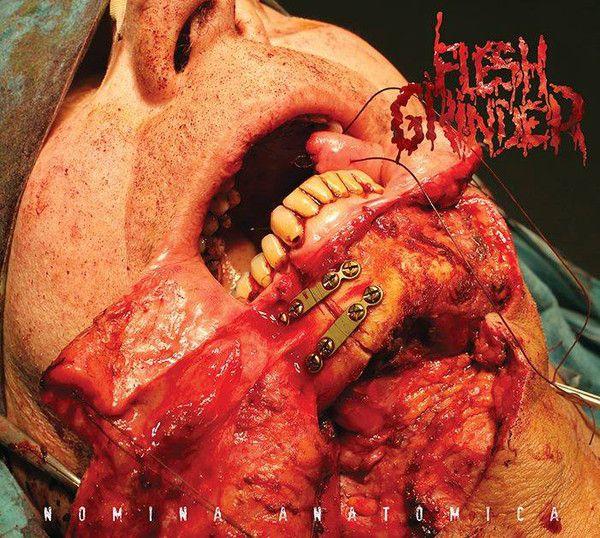 Flesh Grinder – Nomina Anatomica - Digipack