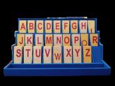 Alfabeto Móvel Degrau Letra De Forma - Brinquedo Educativo