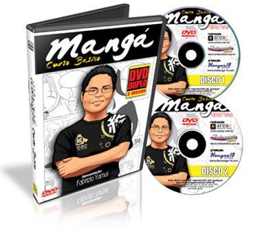 DVD DUPLO Mangá - Curso Básico