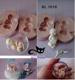 Bebê 3D Bipartido - 5cm- Bl 1010