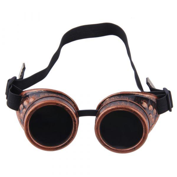 Óculos Steampunk Retrô