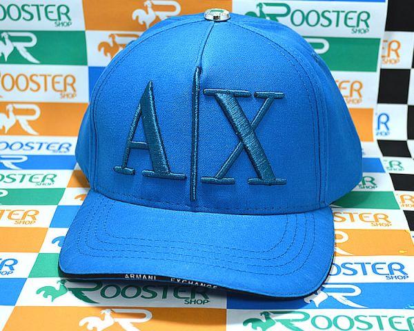 4494c8176ced7 Boné Armani Exchange AX Classic Azul Aba Curva Strapback - Rooster Shop