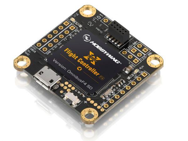 Controladora de Voo HobbyWing XRotor F4 com OSD