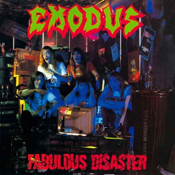 CD - Exodus - Fabulous Disaster