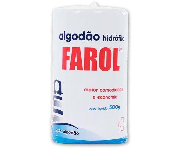Algodão Hidrofilo 500gr Rolo - Farol