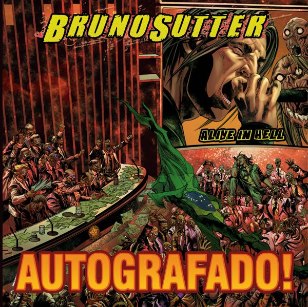 Cd Ao Vivo Bruno Sutter - Alive in Hell