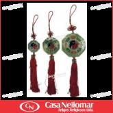 011075 - Baguá - Ornamento com Espelho Médio