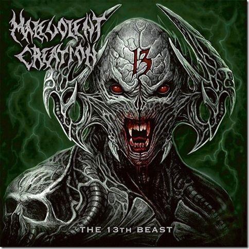 CD Malevolent Creation – The 13th Beast