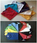 Camisetas Deluxe 12 Peças e 12 Peças Polo Intantil Masculina - 24 Peças FRETE GRÁTIS PAC