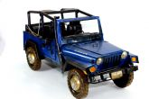 Jeep Rubicon Miniatura Militar De Metal Veiculo 39 Cm