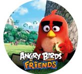 Papel Arroz Angry Birds Redondo 009 1un