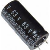 COD 1550 - Capacitor Eletrolítico 2200 uF / 63V