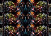 Papel Arroz Vingadores Faixa Lateral A4 011 1un