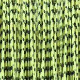 FL - BARRED ROUND LEGS (Fl. Yellow/Black)