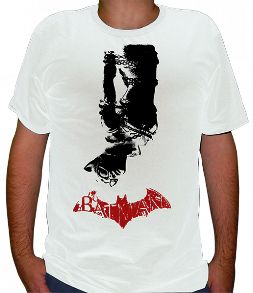camiseta Batman - Mulher Gato Arkhan City