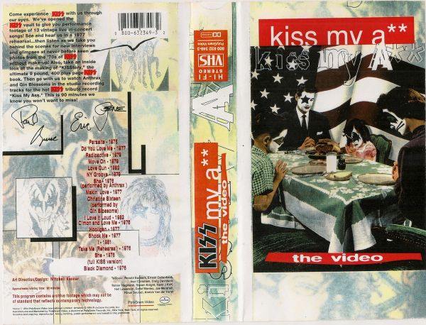 VHS - KISS - Kiss My Ass