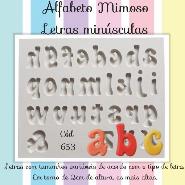 Alfabeto Mimoso (letras minúsculas)