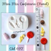 Mini Mix Confeitaria Natal Cód 697