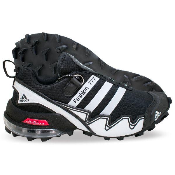 b102f9f0daa Tênis Adidas Fashion 777 - Preto Branco - Shop Tênis Multimarcas