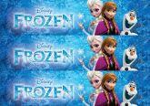 Papel Arroz Frozen Faixa Lateral A4 012 1un