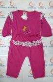 Conjunto com Calça e Camisa Manga Longa -  Nuvem - Tam. M