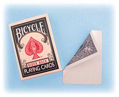 Bicycle carta especial dorso azul,face branca  #452