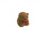 Estojo de veludo urso para brincos, anéis, pingentes, em Uberlândia, modelo EVU0022