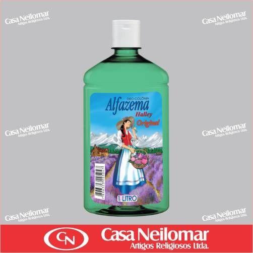 055006 - Deo Colônia Alfazema Halley - 1000 ml