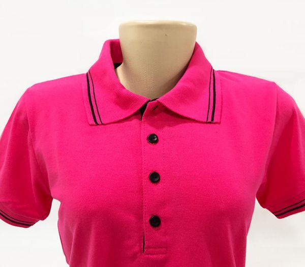 0a78235540414 Camisa Feminina Gola Polo - Veste tauro