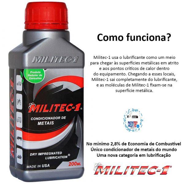 Kit 5 Militec 200ML Original