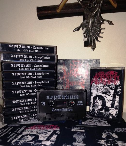 ALPTRAUM - Complilaton Anti Life Black Metal - CASSETE