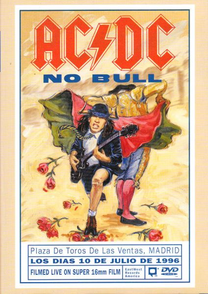 "ACDC - ""No Bull"" DVD Importado (Seminovo)"