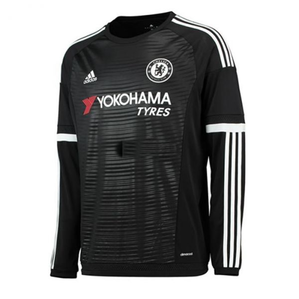 Camiseta Manga Longa Chelsea 2015 - STORE THEM 6596cf01b2fc2
