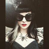 Óculos Lady Goth