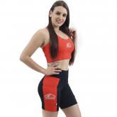 Top Nadador de Compressão Laranja- Emana