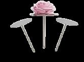 Armador de Flores Base 9cm Inox Mago 1un