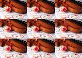 Papel Arroz Violino Faixa Lateral A4 009 1un