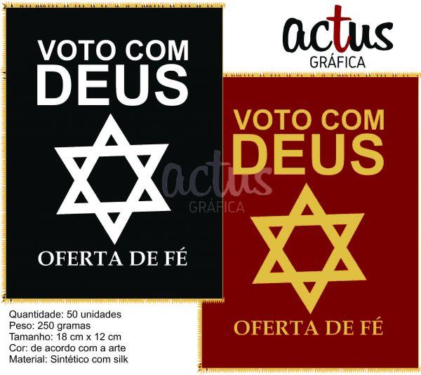 Saquitel Voto com Deus