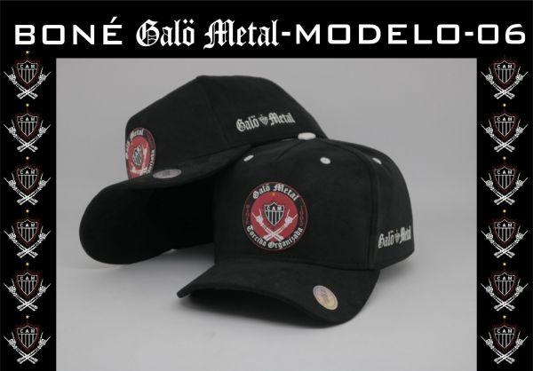 Galo Metal - Boné Torcida Organizada