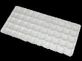 Berço Transparente com 50 cavidades 1un