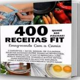 E-BOOK COM 400 RECEITAS FIT CARDÁPIOS