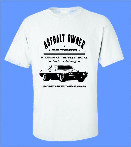 14e5058eb Camiseta Carro Antigo Camaro - ROTA RETRÔ 64 Camisetas de Carros Antigos