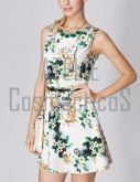 Vestido Estampado Floral