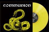 COMMUNION - COMMUNION   - LP (Die hard version yellow LP + Poster + sticker )